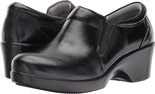 Alegria Professional Eryn Jet Luster Doctor/Chef/Nurses Shoes Leather Clogs (EU 41 Women's US Size 9.5-10) by Alegria