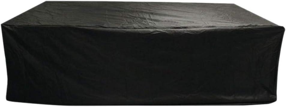 XacxlMöbelbezüge, 213 x 123 x 74 cm, Gartenmöbelabdeckung, Terrassenabdeckung, wasserdichte Sitzgarnitur, Gartenterrasse im Freien