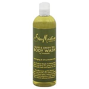 SheaMoisture Olive & Green Tea Body Wash - 13 oz