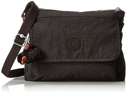 Kipling Aisling Solid Crossbody Bag Convertible Cross Body,Black,One Size
