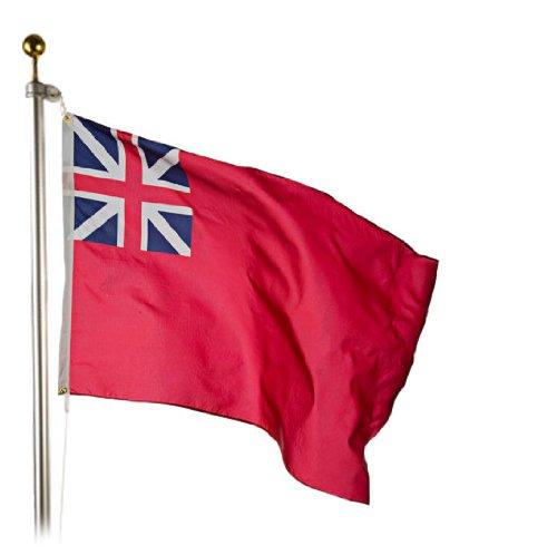 (British Red Ensign Flag 3X5 Foot SolarMax Nylon)