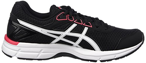 Asics Damen Gel-Galaxy 9 Laufschuhe Schwarz (Black/rouge Red/white)