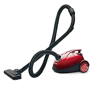 Eureka Forbes Quick Clean DX 1200-Watt Vacuum Cleaner for Home with Free Reusable dust Bag (Red) 8