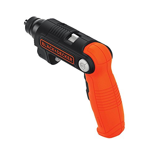 BLACK DECKER 4V MAX Cordless Screwdriver with LED Light BDCSFL20C