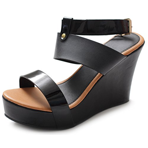 Heel Multi Color Wedge Shoes - 6