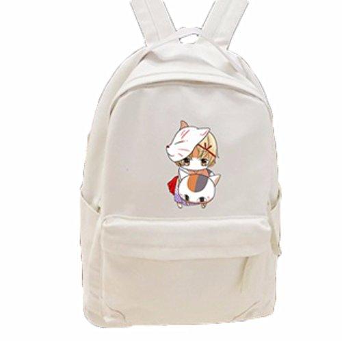rare Schultertasche Tasche Shoulder Bag Rucksack reisetaschen Katze Bräunen Natsume Yuujinchou Book of friend new