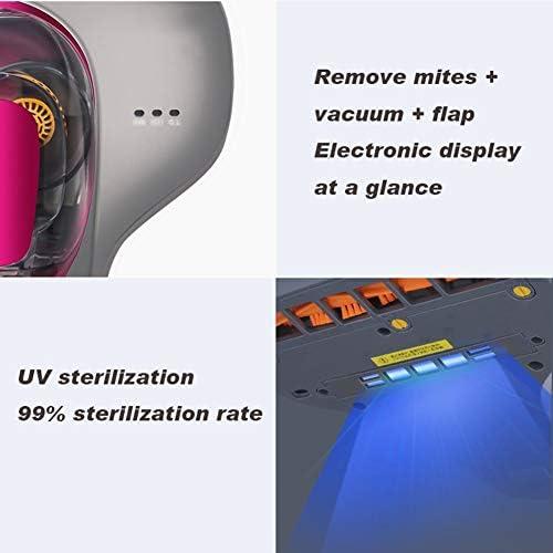YUYUwaa UV Aspirapolvere Wide Mouth Ultrasound 99% Sterilizzazione Tasso Mite Remover antiacaro Rimuovere Acari Aspirazione Asciugatura Materasso Aspirapolvere