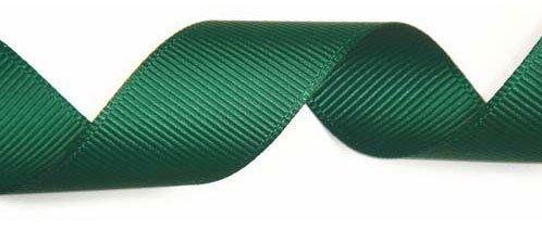 Club Green Ruban Gros Grain Vert Bouteille 16/mm x 10/m