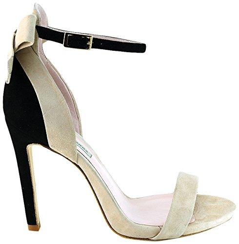 Gianni Marra Women's 4023 Open Toe Heels Beige (Camoscio Beige+camoscio Nero 18210) outlet eastbay discount high quality ev8oI