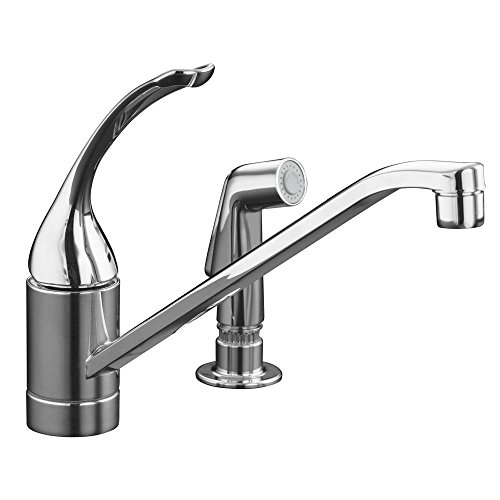 Coralais(R) two-hole kitchen sink faucet with 10