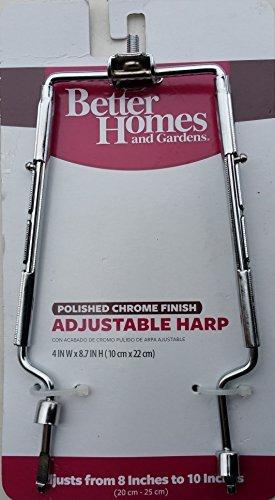 Better Homes and Gardens Adjustable Harp, Chrome