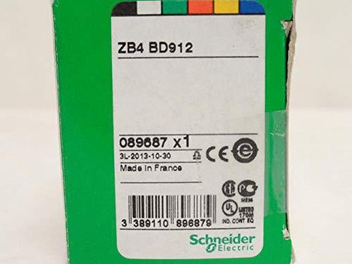 Schneider ZB4BD912 Push Button Head, 22MM