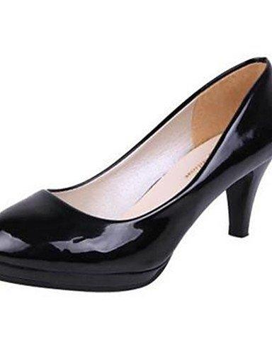 GGX/Damen Schuhe Kitten Heel Heels Heels Office & Karriere/Kleid Schwarz/Weiß black-us8 / eu39 / uk6 / cn39