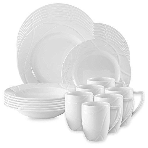 Bold and Modern Lenox 24-pc Porcelain Dinnerware ()