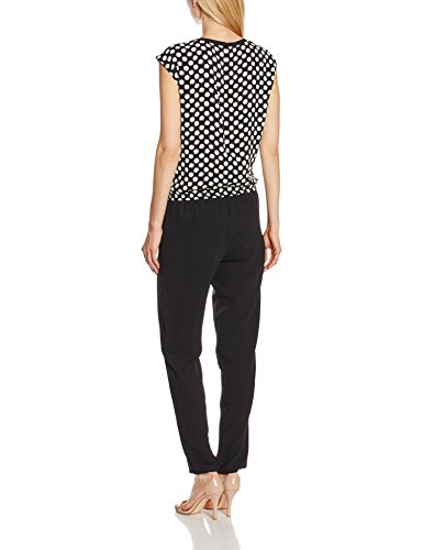 02897d88b5d4 GERRY WEBER Women s Jumpsuit - Black - W34 L30  Amazon.co.uk  Clothing