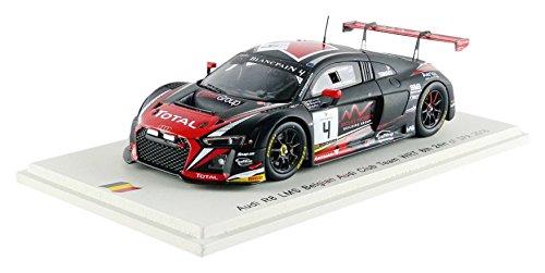Audi R8 LMS, No.4, Belgian Audi Club team WRT, 24h Spa, 2016, Model Car, Ready-made, Spark 1:43