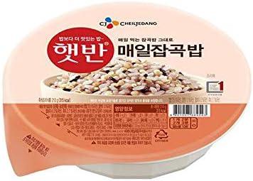 Arroz instantáneo cocido multigrano coreano, sin gluten ...