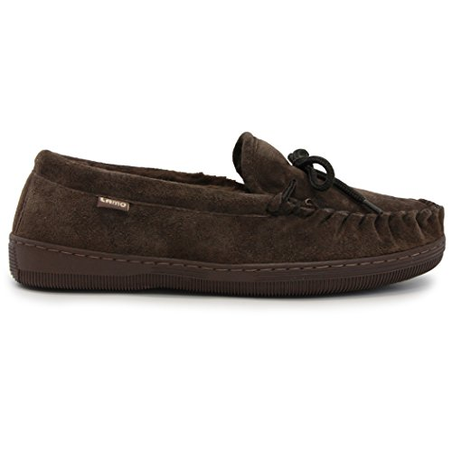 Chocolate Moc - Lamo Men's Moc Shoes, Moccasin, Chocolate, 10 M US