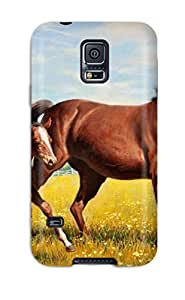 Tpu Case For Galaxy S5 With Horse by lolosakes
