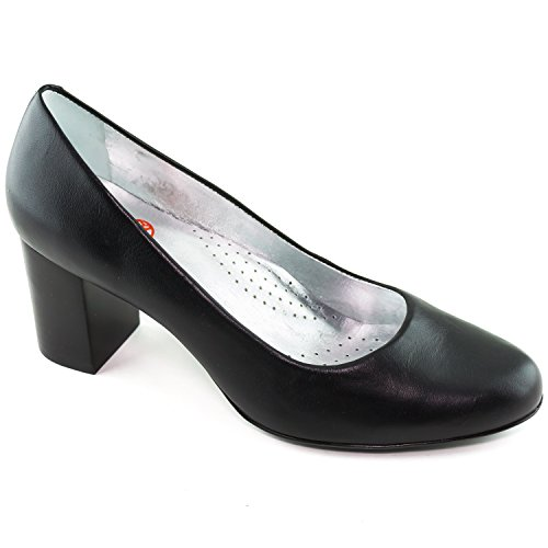 Picture of Marc Joseph New York Women's Midtown Pump Made in Brazil Black Kid Napa Pump 10