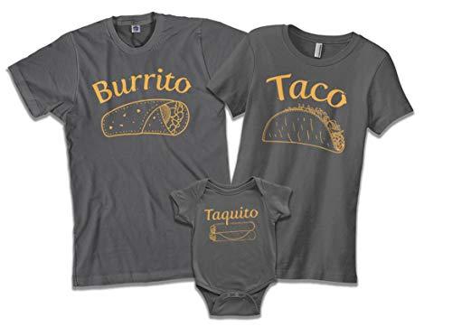 Burrito Taco Taquito Dad