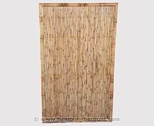 bambus-discount.com 'bambú para ventana pared Ten Premium Altura 180x ancho 120cm–Bambú pared Wind Protección Visión pared para privacidad para ventana pared terraza