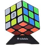 Cubelelo QiYi Sail 3x3 Black Speed Cube Puzzle 3x3x3 Magic Cube Beginners Rubik Cube Puzzle