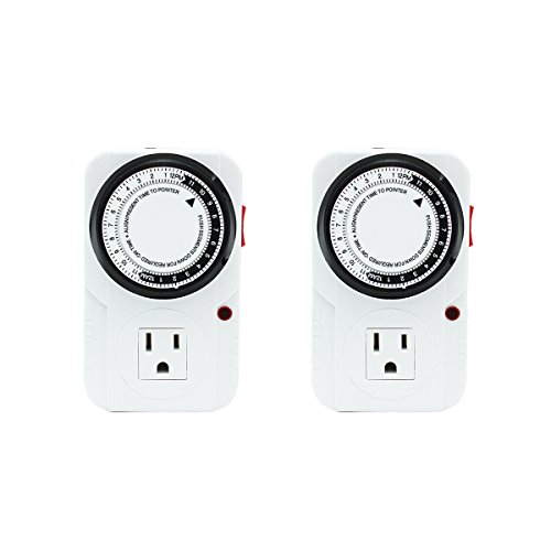 ipower-2-pack-24-hour-heavy-duty-plug-in-mechanical-timer-grounded-analog-timer-120-volt-surge-prote