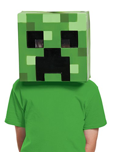 Creeper Minecraft Child Mask