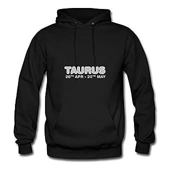 Customized Black Women Lovely X-large Unique Taurus Cotton Sweatshirts