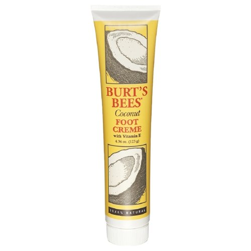 Coconut Foot Creme 4.34 oz (123 g) by Burt's Bees (Pack of 5 )
