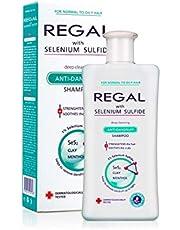 Regal diep reinigende anti-roos shampoo met selenium voor normaal tot vet haar