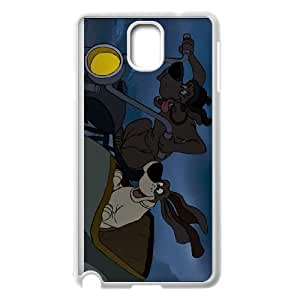 Samsung Galaxy Note 3 Cell Phone Case White Disney The Aristocats Character Lafayette the Basset Hound 001 MWN3919980