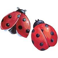 Wallies Wallpaper Cutout, Ladybugs