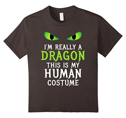 Kids Funny Scary Dragon Costume Halloween Shirt for Women Men Boy 8 (Halloween Costumes Ideas For Women Scary)