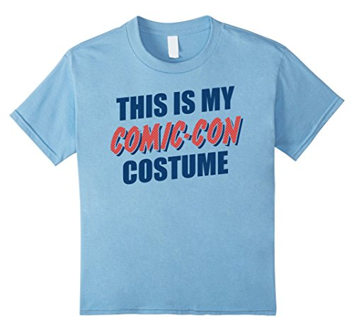 Kids This Is My Comic-Con Costume Halftone Graphic T-Shirt 12 Baby Blue for $<!--$19.99-->