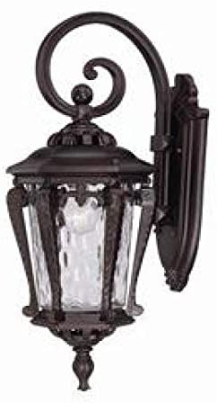 Stratford Collection Wall-Mount Outdoor Architectural Bronze Light Fixture