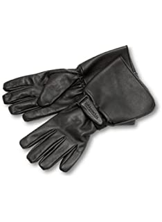 ee2d23666 Milwaukee Motorcycle Clothing Company Men's Leather Gauntlet Riding Gloves  (Black, X-Large)