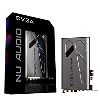 EVGA Nu Audio Card, Lifelike Audio, PCIe, RGB LED, CO-Engineered by and Audio Note (UK) 712-P1-AN01-KR