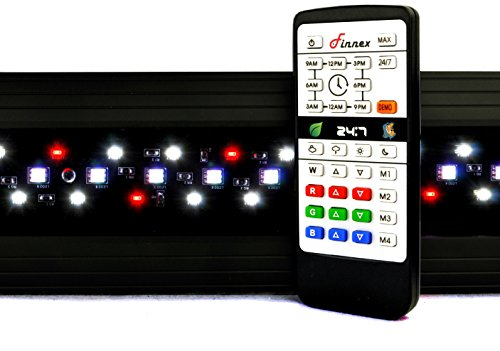 Finnex Planted+ 24/7 SE Fully Automated Remote Aquarium LED Fixture, 48'' by Finnex