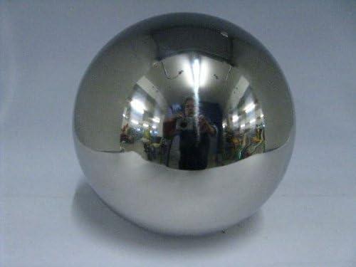 1x Edelstahlkugel Silber gl/änzend /Ø 9 cm