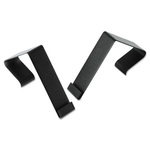 Quartet Products - Quartet - Cubicle Partition Hangers, Black, 2/Set - Sold As 1 Set - Designed to work with Quartet Matrix dry erase and bulletin boards. - Hang board over your partition for easy access. - Set of two.