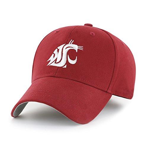 (NCAA Washington State Cougars Children Cinch Ots All-Star MVP Adjustable Hat, Kids, Razor Red)