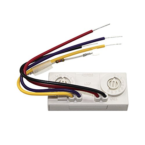 Fci Gamewell Honeywell Amm-2F Velociti Series Fire Alarm Addressable Monitor Module