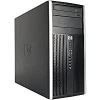 2018 HP Elite 6200 Tower Business Desktop Computer, Intel Quad-Core i5-2400 3.1GHz, 8GB DDR3 RAM, 128GB SSD + 2TB HDD, DVD, WIFI, Windows 7 Professional (Certified Refurbished)