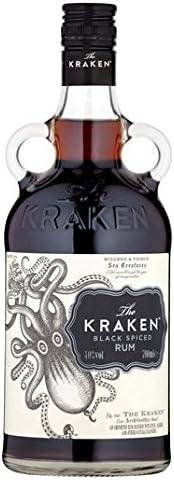 El 70cl Kraken Negro ron condimentado: Amazon.es ...