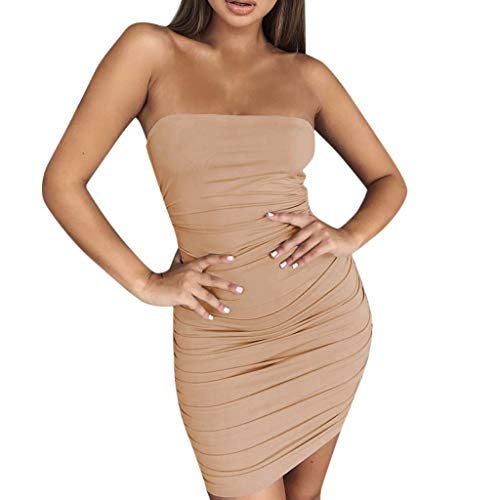 Print Sandals Calvin - Witspace Women Halter Neck Boho Print Sleeveless Casual Beachwear Dress Khaki