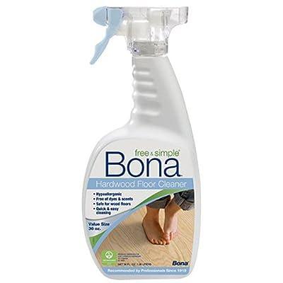 Bona Free & Simple Hardwood Floor Cleaner - 36oz Spray