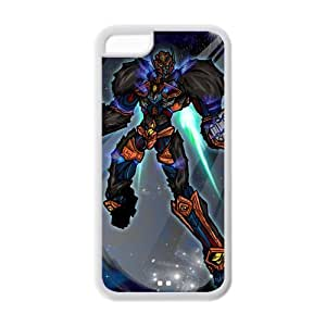 Hardshell Strong Protective Cartoon BeastMachines Optimus Primal Cheetor Protective Cover Case for Iphone 5C TPU Case-5
