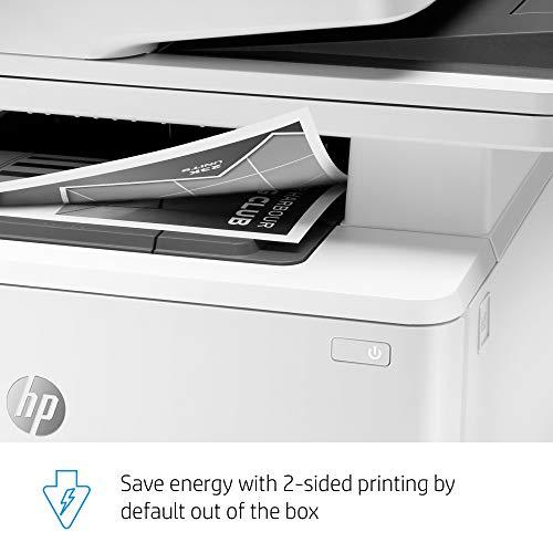 HP LaserJet Pro Multifunction M428fdw Wireless Laser Printer (W1A30A), White, One Size